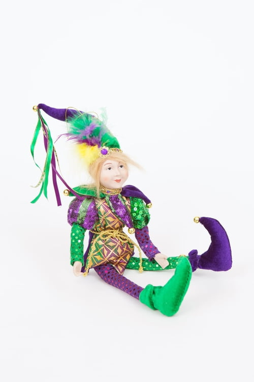 "22"" Hanging Jester Ornament"