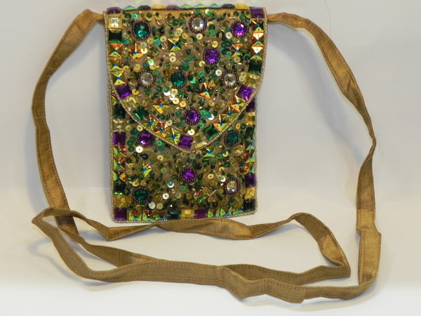 "6.75"" x 4.75"" Confetti Cross Body Bag"