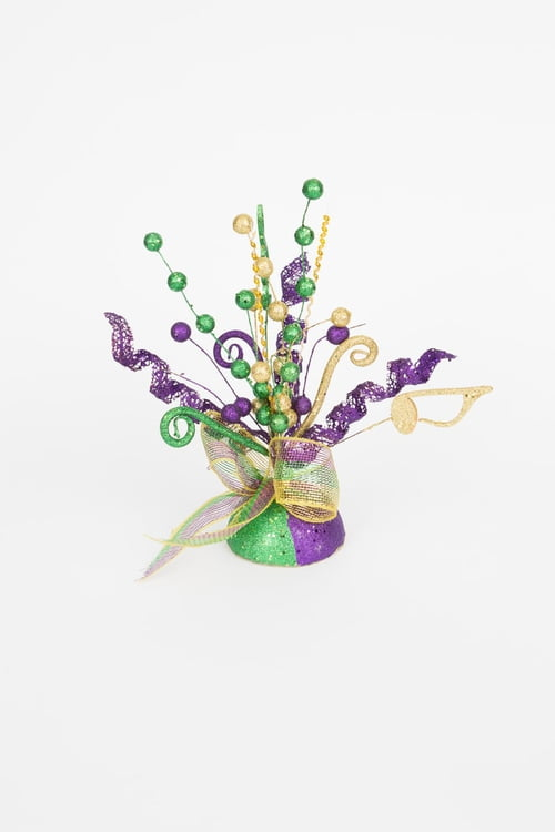 "13.5"" Mardi Gras Centerpiece 6pc/48pc"