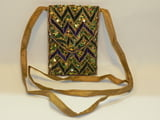 "6.75"" x 4.75"" Zig Zag Evening Cross Shoulder Bag"