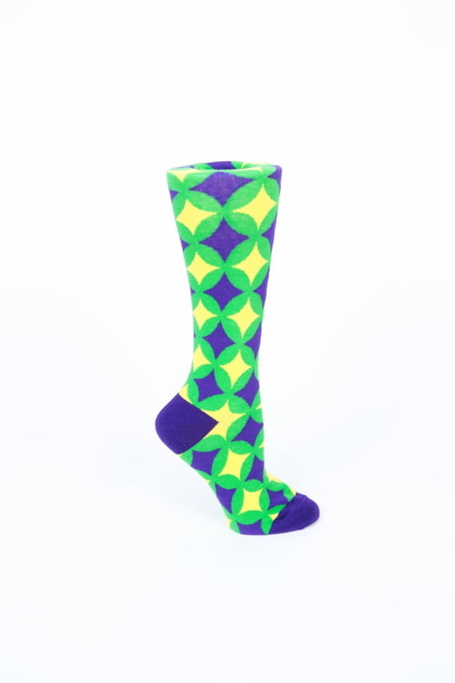 PGG Circle/Stars Socks Women