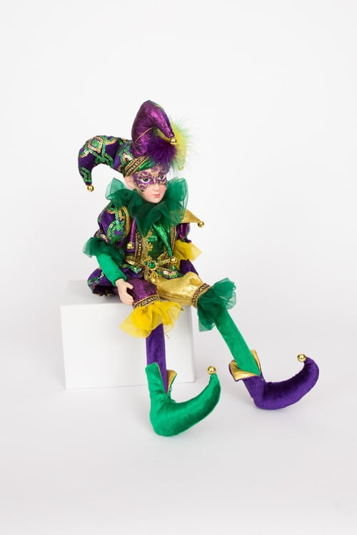 "24"" Hanging Posable Jester"