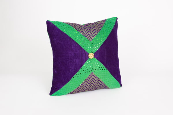 "14"" X 14"" MG Fabric Pillow"