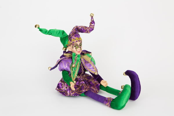 "24"" Posable Jester"