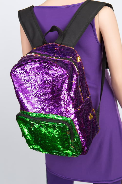 Sequin Backpacks-VARIABLE COLORS
