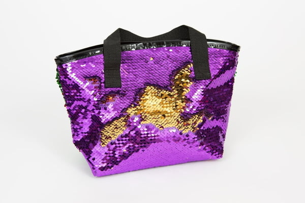 Sequin Bag w/Handle