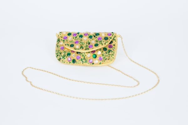 "6.5"" x 4.5"" Handcrafted Sequin Evening Bag"