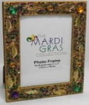 Gold Leaf & Jewel Frame