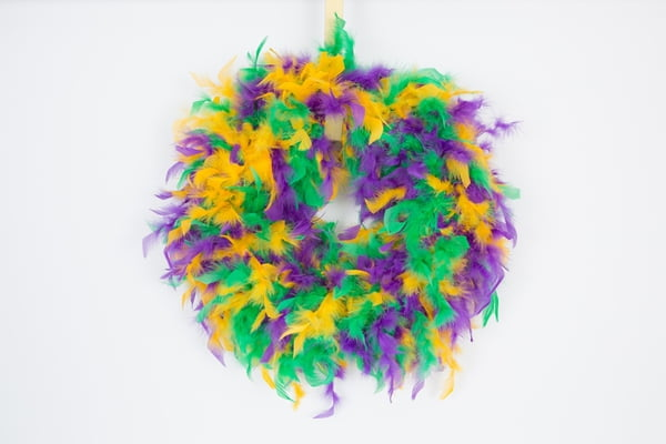 20inch PGGG Feather Wreath