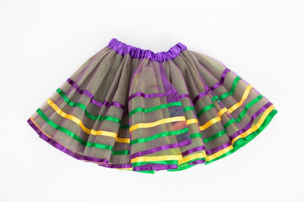 4 Layer Mardi Gras TuTu