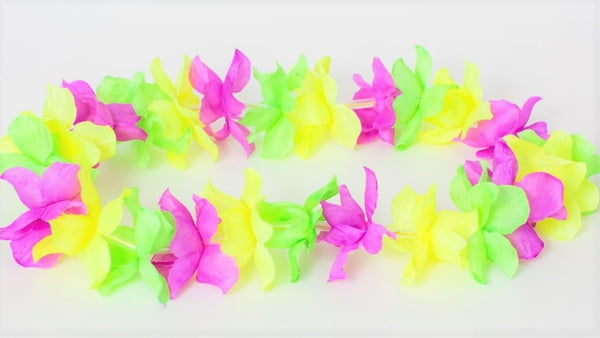 "37"" LED Flower Leis"