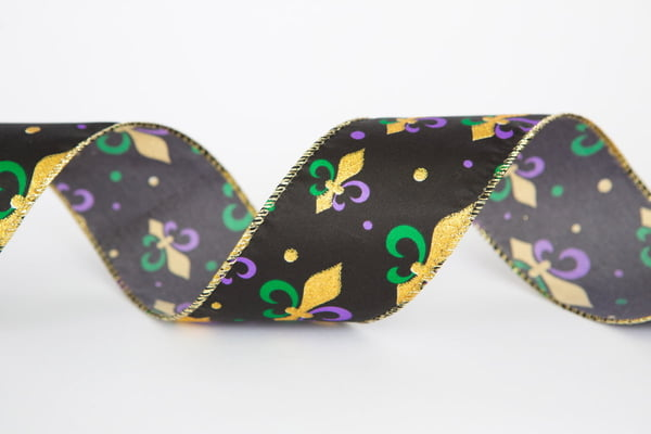 All Colors Fleur de Lis Ribbon