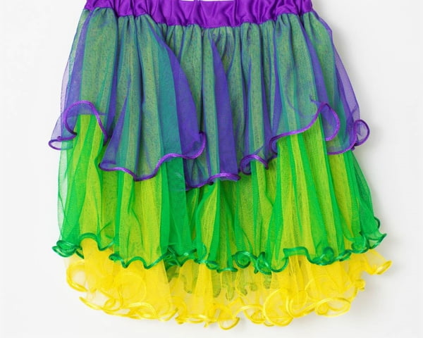 "14"" X 24"" Triple Layer Ruffle Skirt/TuTu"
