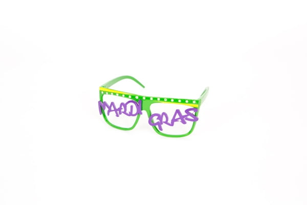 Mardi Gras Party Glasses