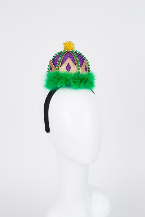 "7"" X 7"" Crown Headband"