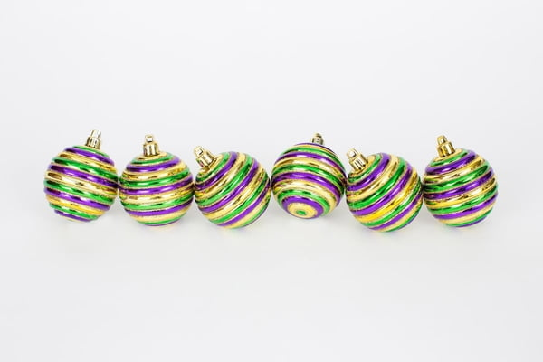 "2.5"" Horizontal Ornaments Bx of 6"