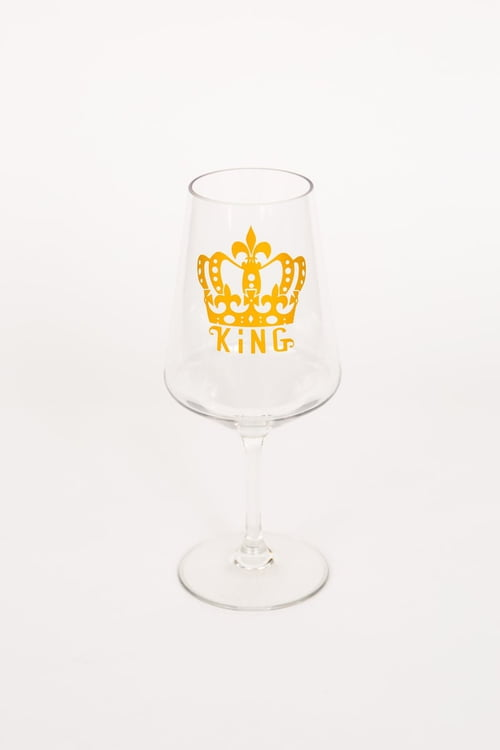 "8.5"" KING Wine Glass"