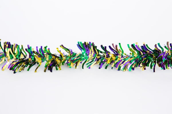 12 ft Curly Garland w Spike