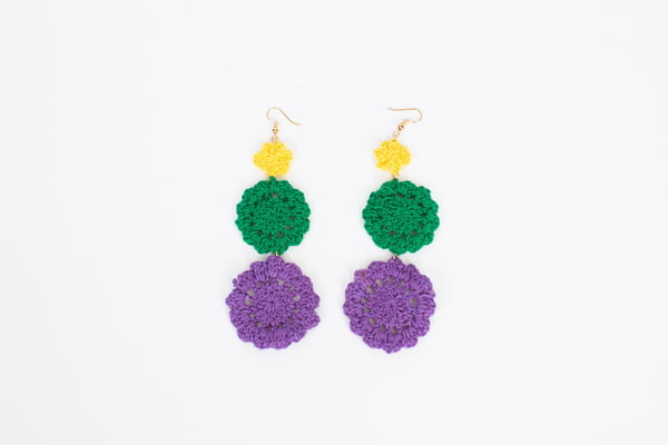 Triple Crochet Earrings