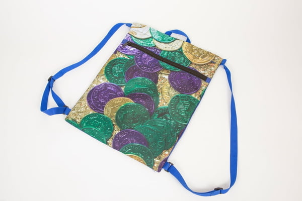 Doubloon Drawstring Bag