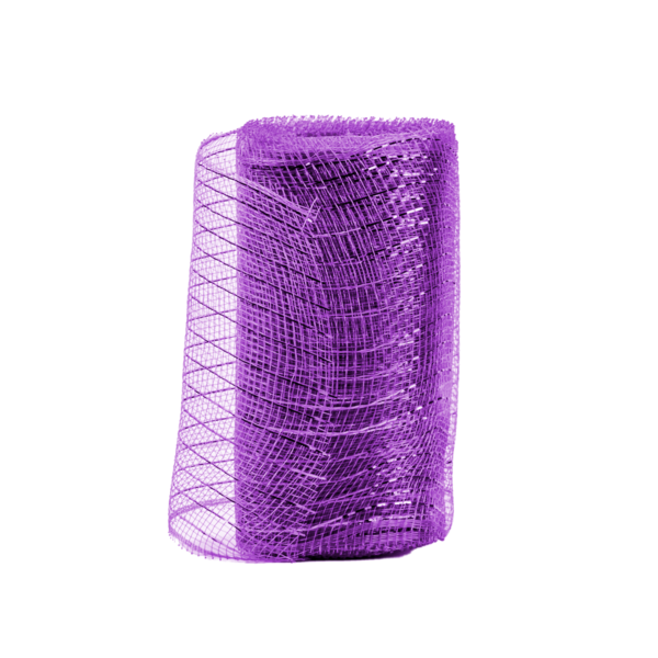 "6"" X 10YD Purple Mesh"