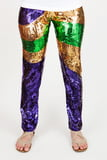 Mardi Gras Sequin Pants