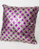 "14"" x 14"" Purple Dazzle Pillow"