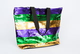 Sequin Shopping Bag-VARIABLE COLORS