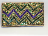 "4.5"" x 8"" Zag Clutch Bag"