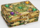 Gold Leaf & Jewel Box