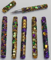 Mardi Gras Writing Pens