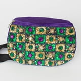 Tic Tac Toe Jeweled Fanny Pack