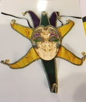 20-700M Full Face Mardi Gras Mask