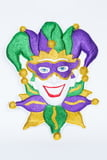 PGG Ruffle Jester Door Plaque