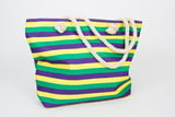 Striped Mardi Gras Bag